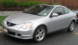 2002-2004 Satin Silver Metallic RSX