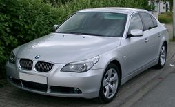 Pre-facelift BMW E60 sedan