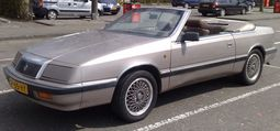1989 LeBaron convertible, European export model
