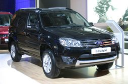 Taiwan-built Ford Escape (Russian specification)