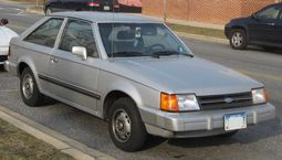 1986-1988 Ford Escort GL 3-door