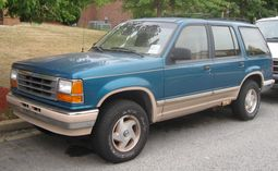 Ford Explorer Eddie Bauer 4-door