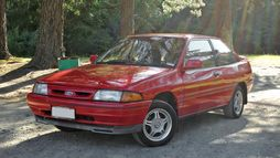 1993 KF Ford Laser S, 3-door Hatchback