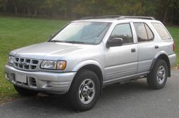 2001-2003 Isuzu Rodeo 4-door (US)