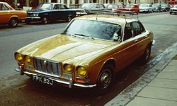Jaguar XJ Series I Jaguar badged