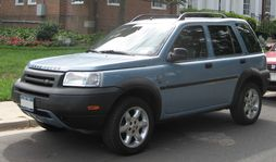 2002-2003 Land Rover Freelander 4-door (US)