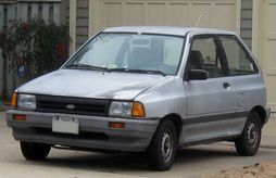 The History Of Mazda Ford Festiva