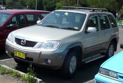 2006-2007 Mazda Tribute Luxury (Asia-Pacific)