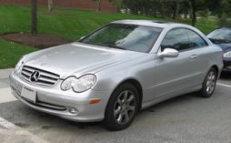 2003-2006 Mercedes-Benz CLK320 coupe
