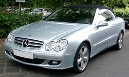 A209 Mercedes-Benz CLK convertible