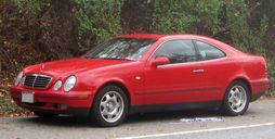 Mercedes-Benz CLK 320 coupe (US)