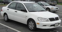2002-2003 Mitsubishi Lancer sedan (US)
