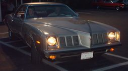 1973 Pontiac Grand Am, the first model year of the Grand Am