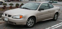 1999-2002 Pontiac Grand Am coupe