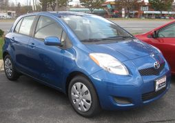 2009 Toyota Yaris 5-door (US)