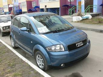 2001 AUDI A2 Pictures