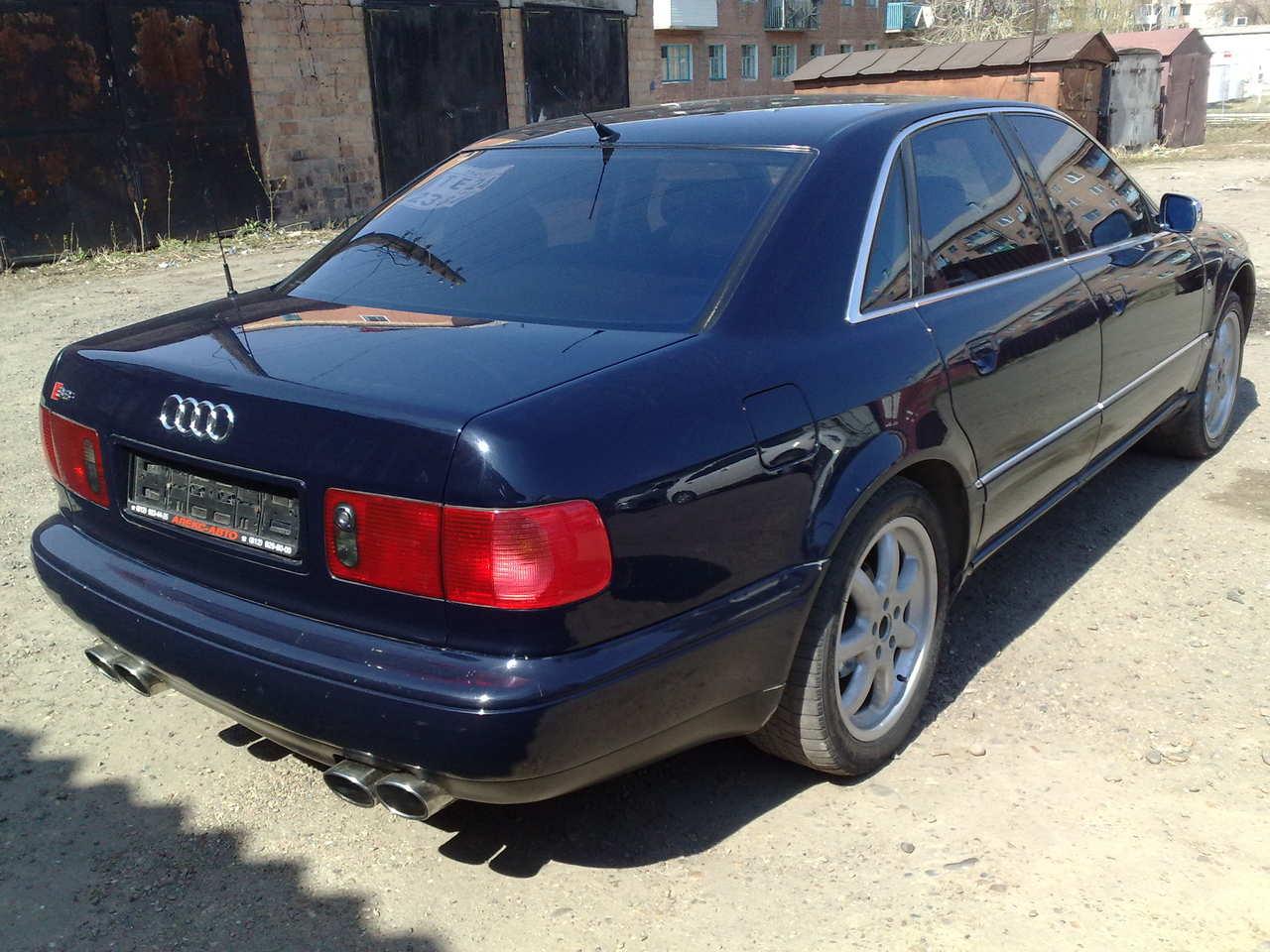 1995 AUDI A8 Pictures, 4.2l., Gasoline, Automatic For Sale