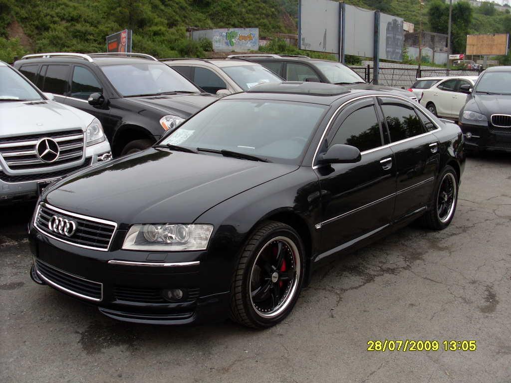 2004 AUDI A8 specs, Engine size 4200cm3, Fuel type ...