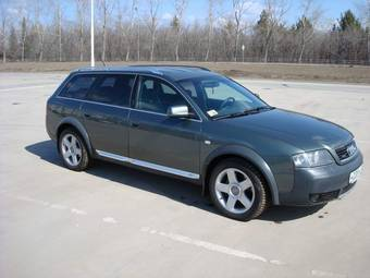 2001 AUDI Allroad Pictures