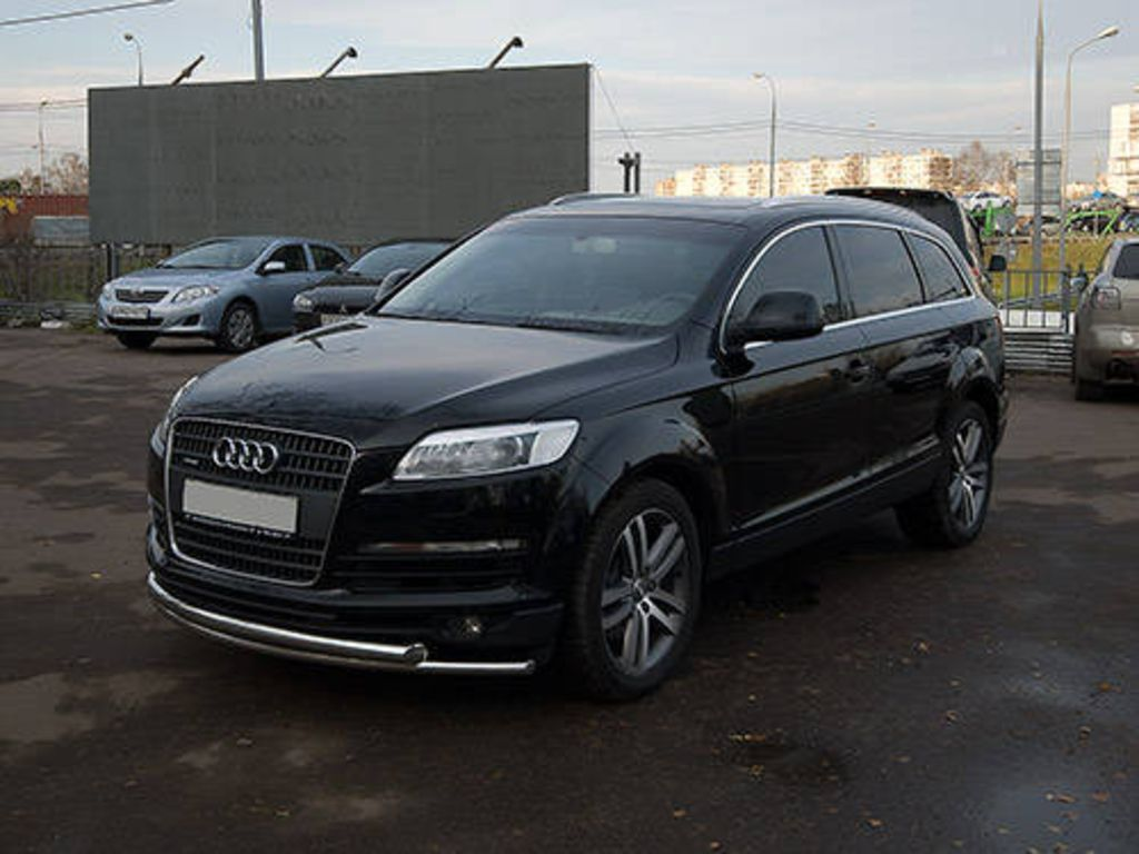 2006 audi q7 photos. Black Bedroom Furniture Sets. Home Design Ideas