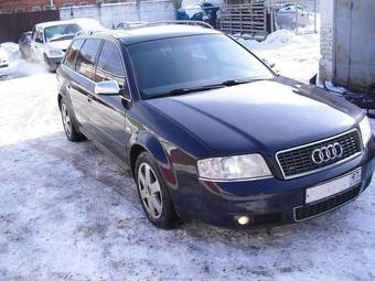 2001 AUDI S6 Pictures