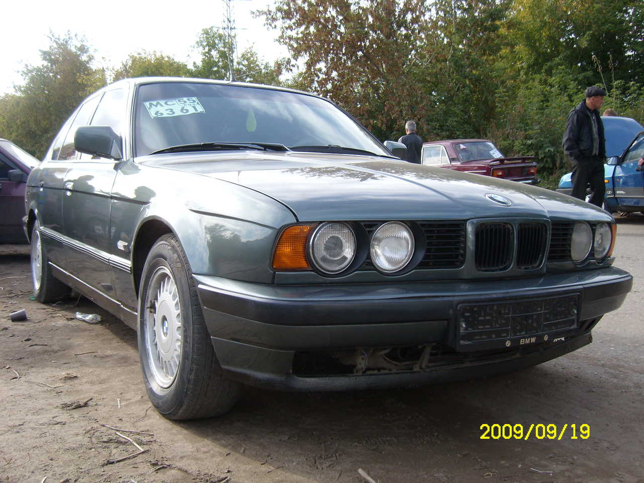1990 bmw 5 series pictures 2500cc for sale. Black Bedroom Furniture Sets. Home Design Ideas