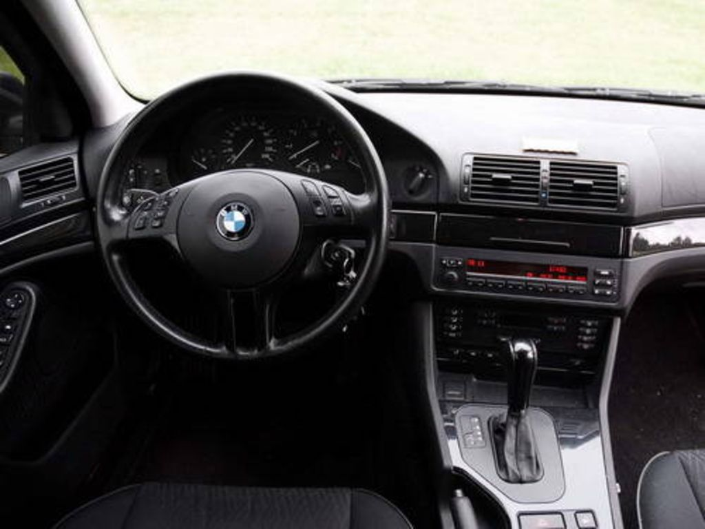 BMW 5 Series bmw 5 series red interior 2002 BMW 5-series Pictures
