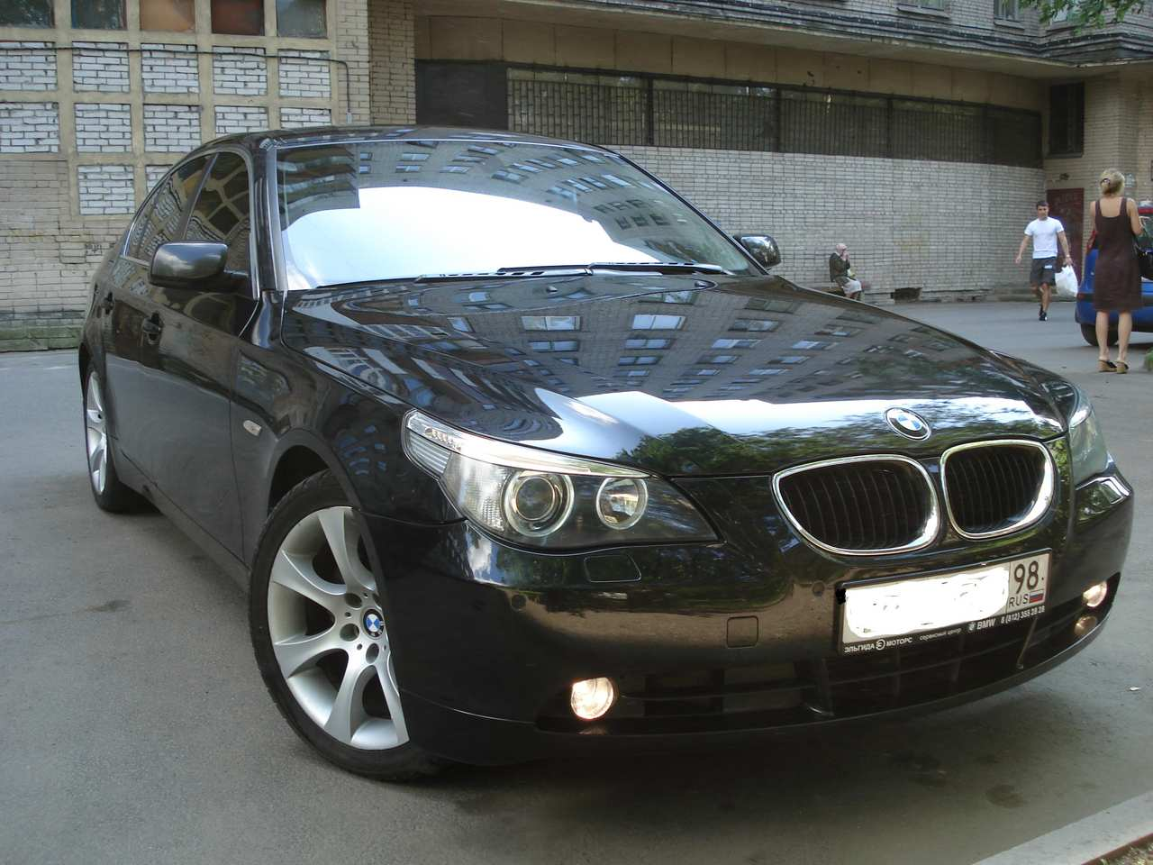 2005 bmw 5 series pictures 2500cc gasoline fr or rr automatic for sale. Black Bedroom Furniture Sets. Home Design Ideas
