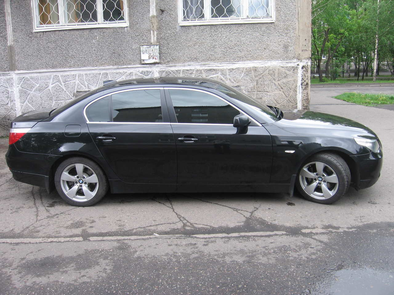 2007 Bmw 5 Series Pictures 2500cc Gasoline Fr Or Rr