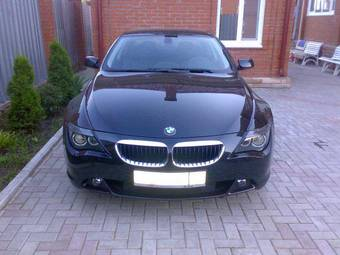 2006 BMW 6-SERIES Photos