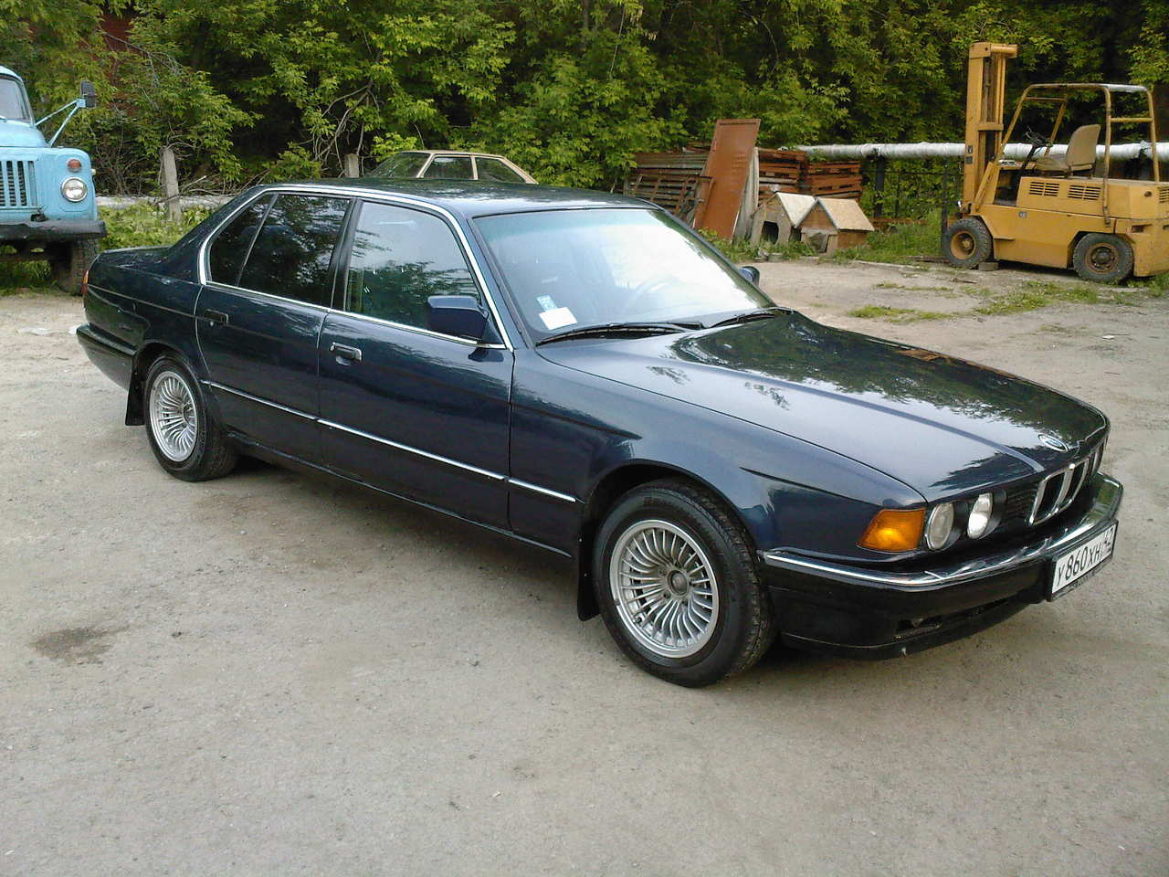 1991 Bmw 7 Series Pictures 3000cc Gasoline Fr Or Rr