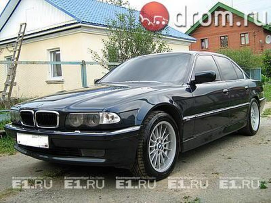1996 Bmw 7 Series Photos