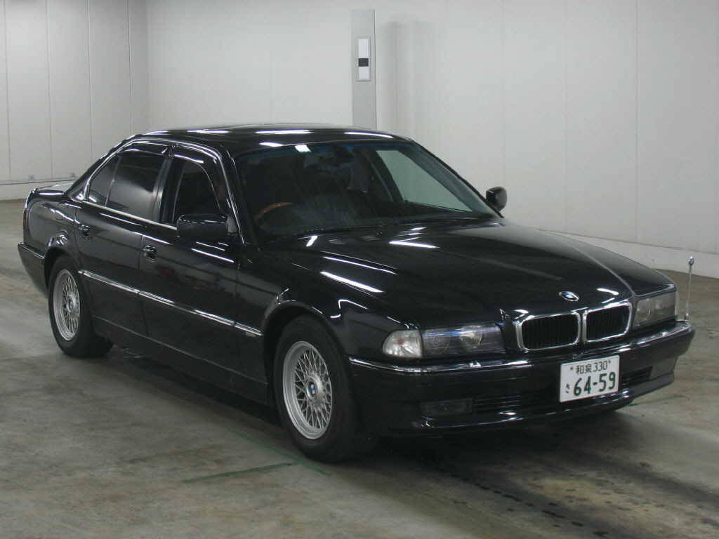 1997 bmw 7 series pictures gasoline fr or rr. Black Bedroom Furniture Sets. Home Design Ideas
