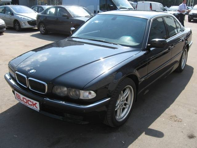 used 1997 bmw 7 series photos 5379cc gasoline fr or rr. Black Bedroom Furniture Sets. Home Design Ideas