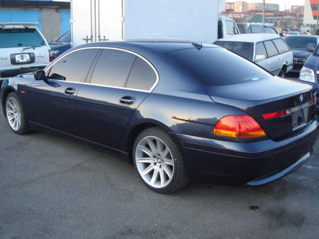 2002 BMW 7-series Pictures