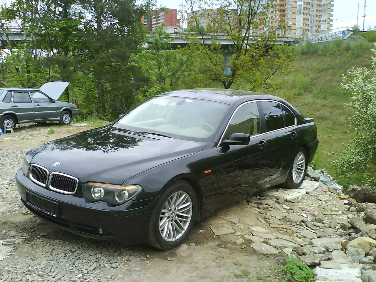 used 2003 bmw 7 series photos 4398cc gasoline fr or rr automatic for sale. Black Bedroom Furniture Sets. Home Design Ideas