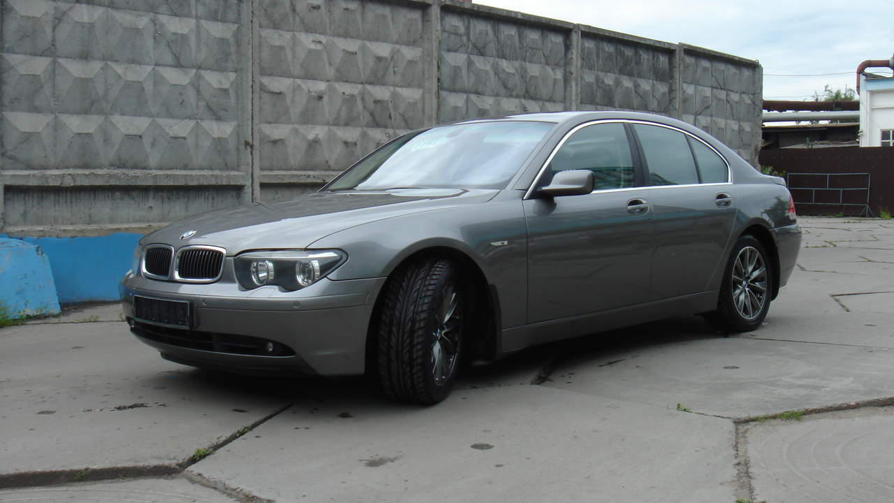 used 2003 bmw 7 series photos 3000cc diesel fr or rr automatic for sale. Black Bedroom Furniture Sets. Home Design Ideas