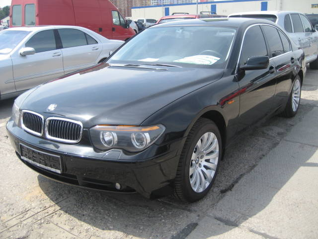 2004 bmw 7 series pictures 3000cc gasoline automatic. Black Bedroom Furniture Sets. Home Design Ideas