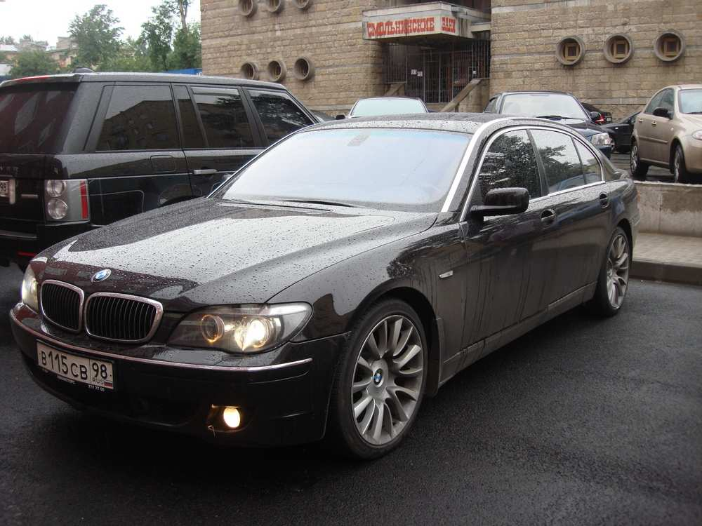 2007 bmw 7 series pictures gasoline fr or rr automatic for sale. Black Bedroom Furniture Sets. Home Design Ideas