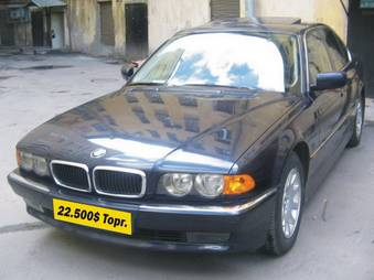 1999 bmw 735il photos 3 5 automatic for sale. Black Bedroom Furniture Sets. Home Design Ideas