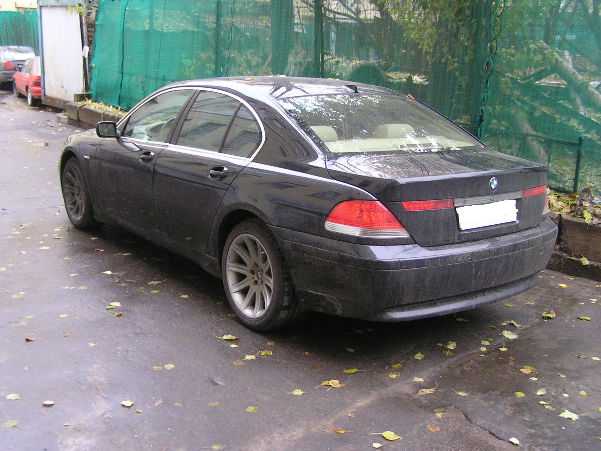 2002 bmw 745 pictures, 4500cc., gasoline, automatic for