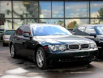 Used 2001 BMW 750I Photos 4400cc Gasoline FR Or RR Automatic