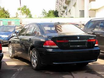 Used 2001 BMW 750I Photos 4400cc Gasoline FR Or RR Automatic
