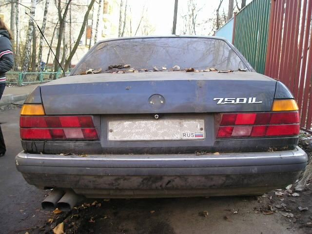 1992 Bmw 750il Pictures For Sale