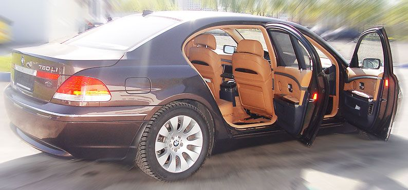 2003 BMW 760il Pictures, 6000cc., Gasoline, FR or RR, Automatic For Sale