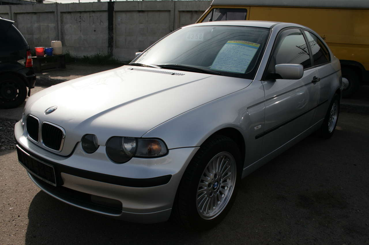2002 Bmw Compact Pictures 1800cc Manual For Sale