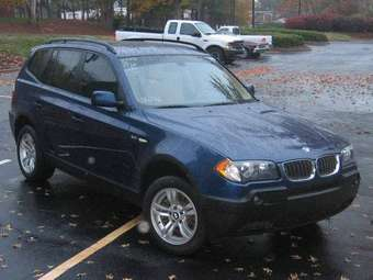 2005 BMW X3 Photos