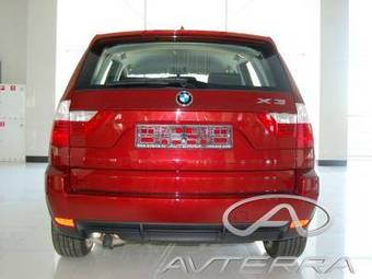2009 BMW X3 Photos