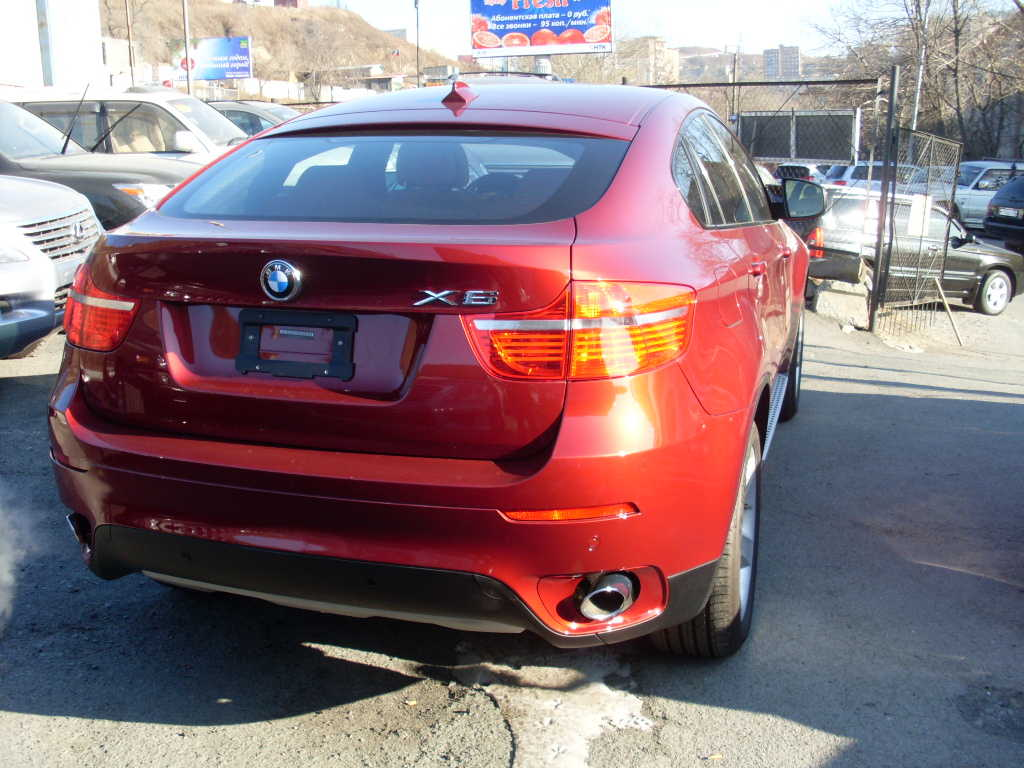 2006 Bmw X6 Pictures 3000cc Gasoline Automatic For Sale