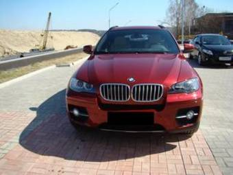 used 2008 bmw x6 photos 5000cc gasoline automatic for sale. Black Bedroom Furniture Sets. Home Design Ideas